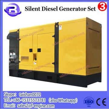 Silent type 80kw Electric Diesel Power Generator set with cummins engine 6BT5.9-G2 generator diesel 100kva