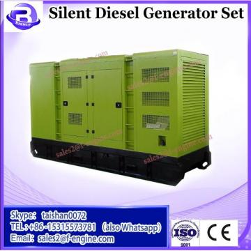 344KW 375KVA AC Single Phase Output Type Silent diesel generator set with cummins engines NTA855-G1B
