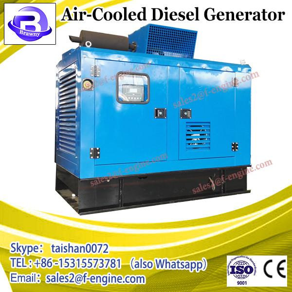air-cooled portable diesel engine powered generator HP9000CXE #1 image